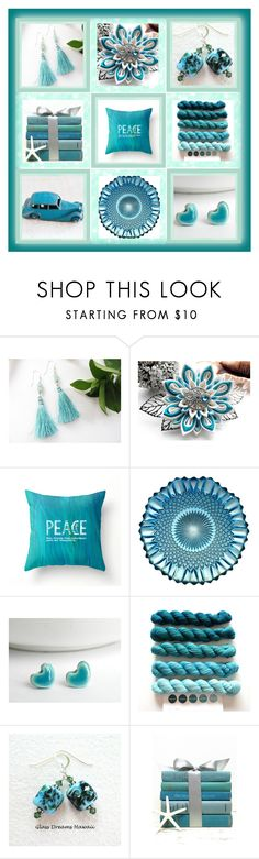 """""""Turquoise"""" by andreadawn1 ❤ liked on Polyvore"""