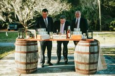 wedding cigar bar Rustic wedding