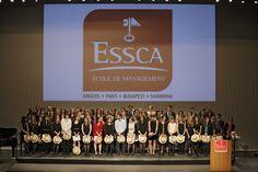 Remise des diplômes ESSCA - 2013