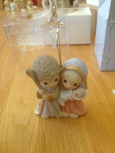 Precious Moment nativity ornament