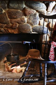I just love a fireplace. That was one of my request for Scott and my honeymoon. They are so romantic! We went to Jackson Hole and the temper...