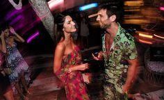 Juliana Martins e Diego Rodriguez em Trancoso.