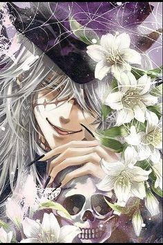 Undertaker from Black Butler anime and manga.