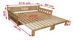 Sofa Bed Design, Living Room Sofa Design, Bedroom Furniture Design, Diy Pallet Furniture, Home Room Design, Bed Furniture, Furniture Projects, Diy Sofa, Diy Bed