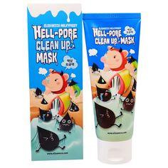 Elizavecca, Hell-Pore Clean Up Mask, 100 ml