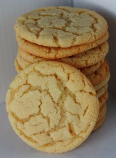 Baking Away: Chewy Sugar Cookies - (my go to recipe from not on! These are delicious!!!! So easy!)