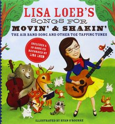 The morning rush before school can feel crazy sometimes. Lisa Loeb has been helping us stay focused with a wake-up cheer from her CD/Book combo Lisa Loeb's Songs for Movin' and Shakin': The Air Band Song and Other Toe-Tapping Tunes. There are a couple of other songs by special guests The Not-Its! and Sugar Free Allstars. What helps you?