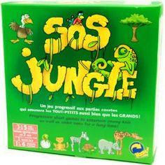 Avec SOS Jungle, les tout-petits pourront jouer leur première partie de jeu de plateau!  Voici un autre de nos jeux que nous vous suggérons pour Noël. Vous recherchez d'autres idées bien adaptées au besoin de votre enfant ou tout simplement pour le divertissement? Visitez régulièrement nore zone jeu dans les albums photos. Albums Photos, Jouer, Voici, Entertainment, Gift Ideas, Birthdays, Tray
