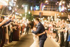 Sparkler Exit, Fall Wedding, #boldlychicevents