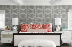 San Mateo Modern - contemporary - bedroom - san francisco - Laura Martin Bovard