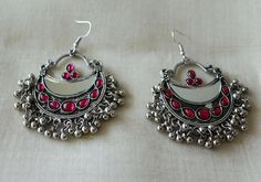 Colourful Tribal Afghan Earrings – Desically Ethnic