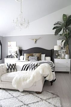 Black and white bedroom furniture 52