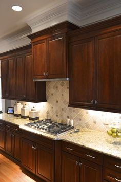 1000 images about countertop backsplash on pinterest for Charlotte kitchen cabinets