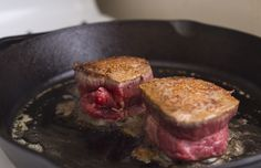 How to Cook the Perfect Steak Indoors with  Cast Iron