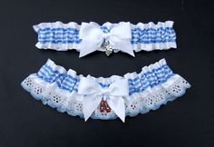 Wizard of Oz Garter Set YOU CHOOSE the by PikesPeakCreations