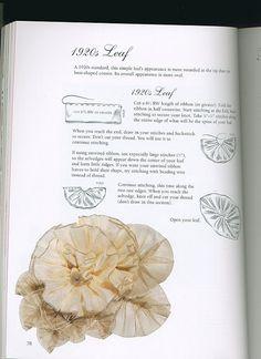 Ribbon Art, Diy Ribbon, Ribbon Crafts, Flower Crafts, Handmade Flowers, Diy Flowers, Fabric Flowers, Vintage Embroidery, Ribbon Embroidery