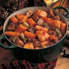 Classic Beef Stew Recipe -Here's a good old-fashioned stew with rich beef gravy that lets the flavor of the potatoes and carrots come through. This is the perfect hearty dish for a blustery winter day. I make it often this time of year. — Alberta McKay, Bartlesville, Oklahoma