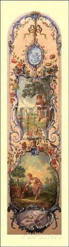 Rustic Pursuits IV Posters tekijänä Francois Boucher AllPosters.fi-sivustossa