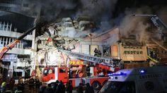چین: شاپنگ سنٹر میں آتشزدگی سے 17 ہلاک