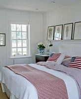 gingham and flags