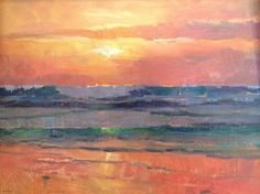 Sunset, Torrey Pines State Beach by Catherine Grawin
