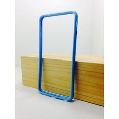 iPhone - Силиконовый бампер - iPhone 6 Plus Голубой