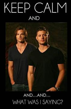 This actually happens to me, I'll see one a these sexy dudes or Misha (♥) & my brain will heat up to nothing