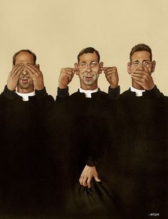 Austrian cartoonist Gerhard Haderer has been producing satirical illustrations for decades now, highlighting why today's society is nowhere near perfect. Satirical Illustrations, Illustrations And Posters, Fotojournalismus, Es Der Clown, Social Media Art, Religion, Political Art, Brutally Honest, Realistic Drawings