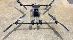 drone hidrogeno propulsado