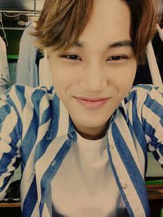 Kai - 150507 Official EXO-L website update Credit: Official EXO-L website.