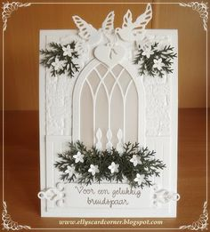 For a happy couple - Used Memory Box Gothic window