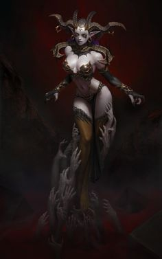 ArtStation - Empress of Desire, Yoon Seseon #digitalpainting #illustration #character