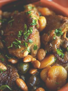Moroccan-Inspired Chicken Tangine