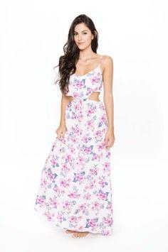 Long Dress from Frankies Bikinis #FLoral
