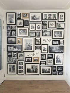 (notitle) - Dekoration - Pictures on Wall ideas Gallery Wall Layout, Gallery Wall Frames, Frames On Wall, Photo Wall Layout, Family Wall Decor, Photo Wall Decor, Family Pictures On Wall, Picture Arrangements, Picture Wall