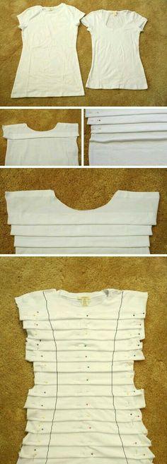 DIY Upcycled T-shirt