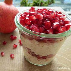 Wellness Recipe — Coconut Oatmeal Parfait