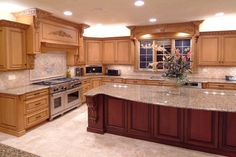"43 ""new And Spacious"" Light Wood Custom Kitchen Designs  Light Magnificent Custom Design Kitchen Design Inspiration"