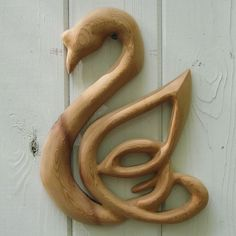 celtic knot for fidelity | Swan - Wood Carved Celtic Knot of Love and Fidelity | signsofspirit ...