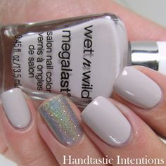 Handtastic Intentions: Wet n Wild A Latte Love Swatch and Review