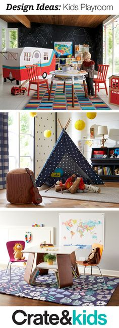 Searching for playroom ideas with lots of imagination? Our room gallery offer tons of inspiring designs help you create a play space that can keep up with any kid. Playroom Organization, Playroom Decor, Playroom Ideas, Kid Playroom, Kids Bedroom, Bedroom Decor, Bedroom Sets, Bedrooms, Toy Rooms