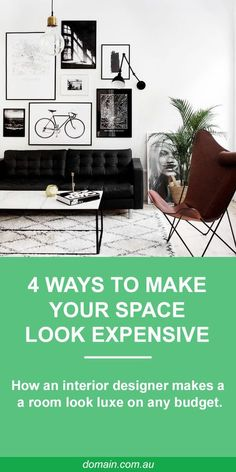 Making a small space look high-end when you're only starting out and have a limited budget can be a hard goal to achieve. But if there's one person who knows how to make any space feel grand on virtually any budget, it's Eddie Ross.