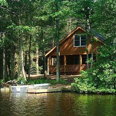 Perfect little lake cabin.