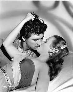 Publicity Still Of Rock Hudson & Piper Lourie=The Movie The Golden Blade
