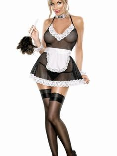 Cheap Chamber Maid Lingerie Costume online - All Products,Sexy Costumes,French Maid Costumes French Maid Lingerie, French Maid Dress, French Maid Costume, Sexy Lingerie, Calgary, Sexy Outfits, Sexy Halloween Costumes, Maid Halloween, Costumes For Women
