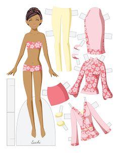 Paper Doll School: Fashion Friday - Sachi