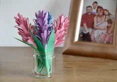 #flowers #mothersday Glass Vase, Paper Crafts, Flowers, Grands Parents, Planning, Grimm, Arts, Mothers, Craft Ideas