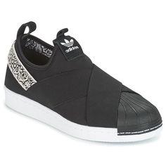 Χαμηλά Sneakers adidas Originals SUPERSTAR SlipON W Black / άσπρο 92.00 €