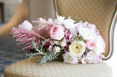 Coordination & Florals by: Breezy Day Weddings Photo by: Pam Scott Photography Venue: Westgate Hotel