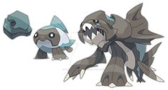 [These were paid for by Eryizo and are not to be used by anyone else, hence the watermark] Name: Scorprid (Scorpion + Eurypterid) Species: Segmented Pokemon Type: Rock / Poison ...